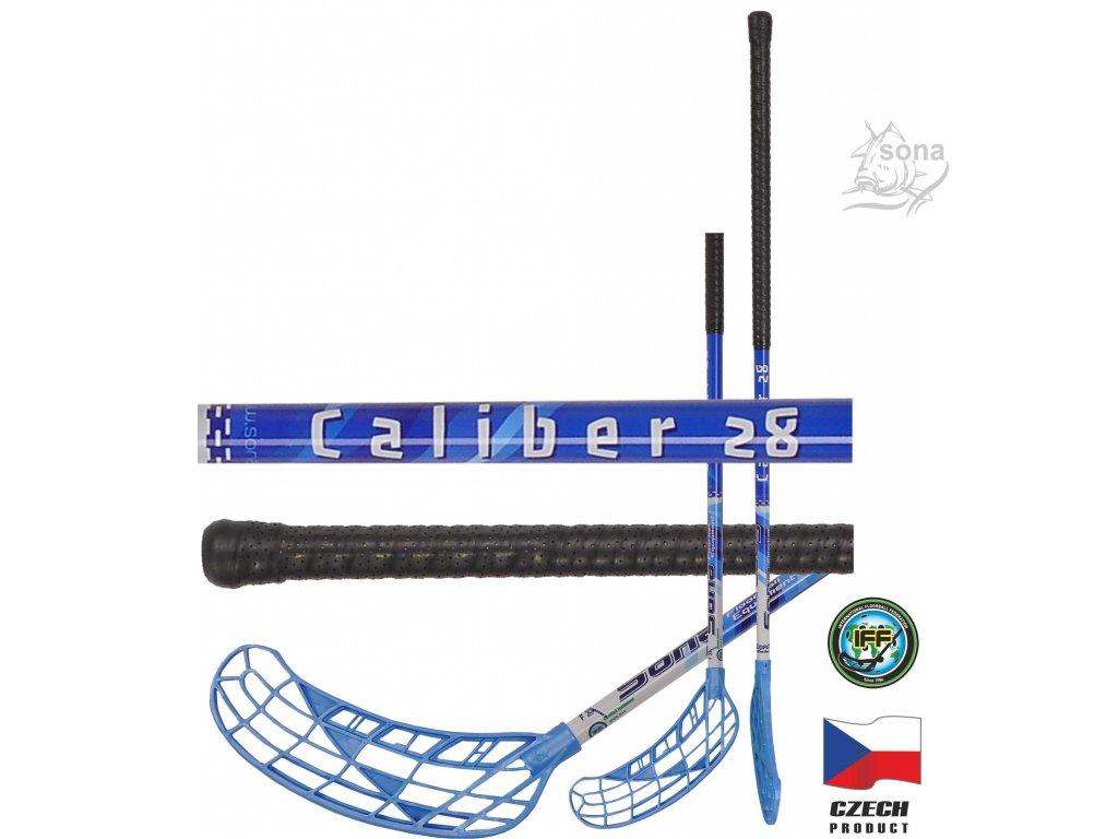 Floorbalová hokejka CALIBER FLEX 28 IFF