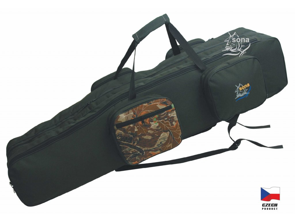 Rybářská taška SONA model K 90 cm tříkomorová