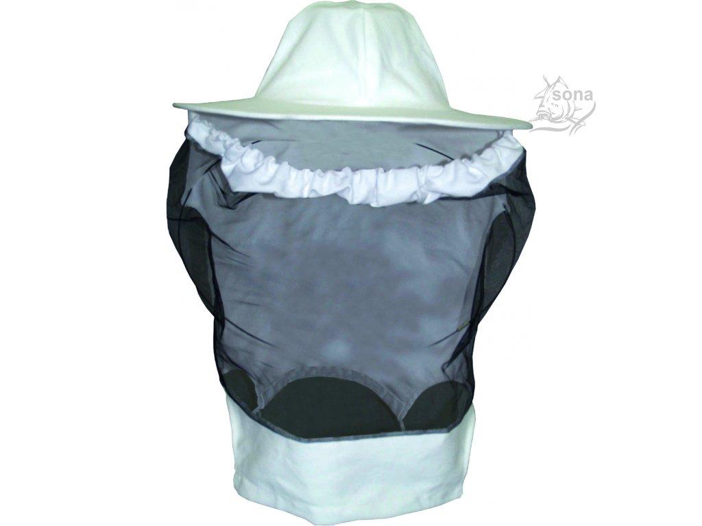 Včelařský klobouk s rukávem