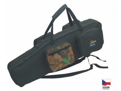 Rybářská taška dvoukomorová model K