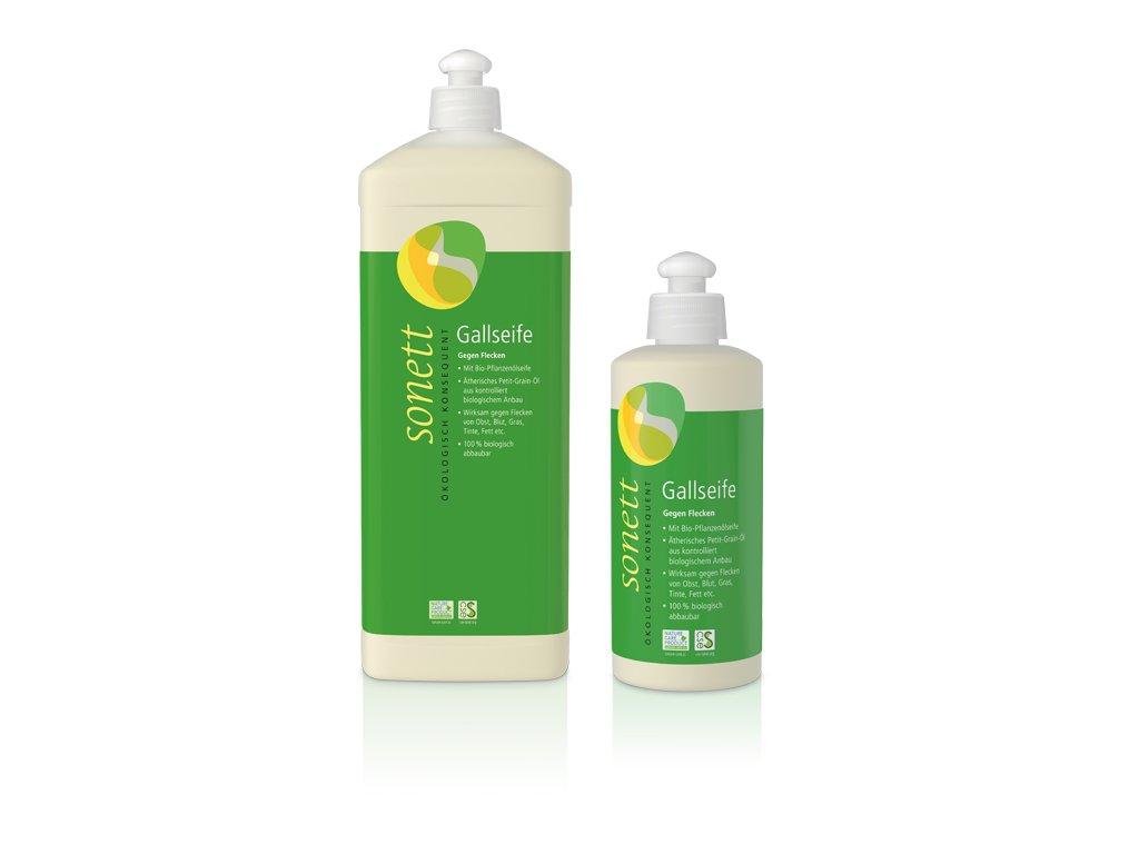 Tekuté žlčové mydlo na škvrny