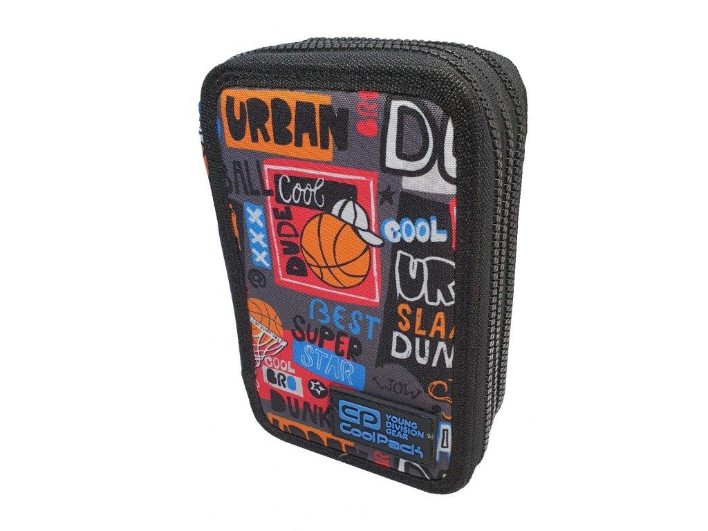 CoolPack penál Jumper 3 - basket