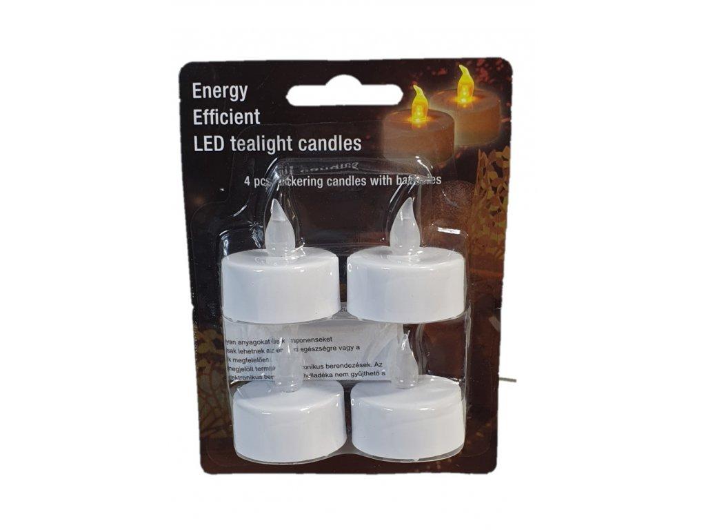 LED čajové svíčky, 4ks