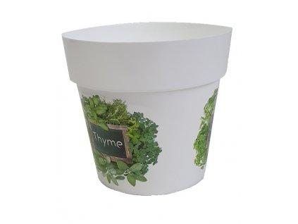 Květináč IML bylinky H3, 12cm