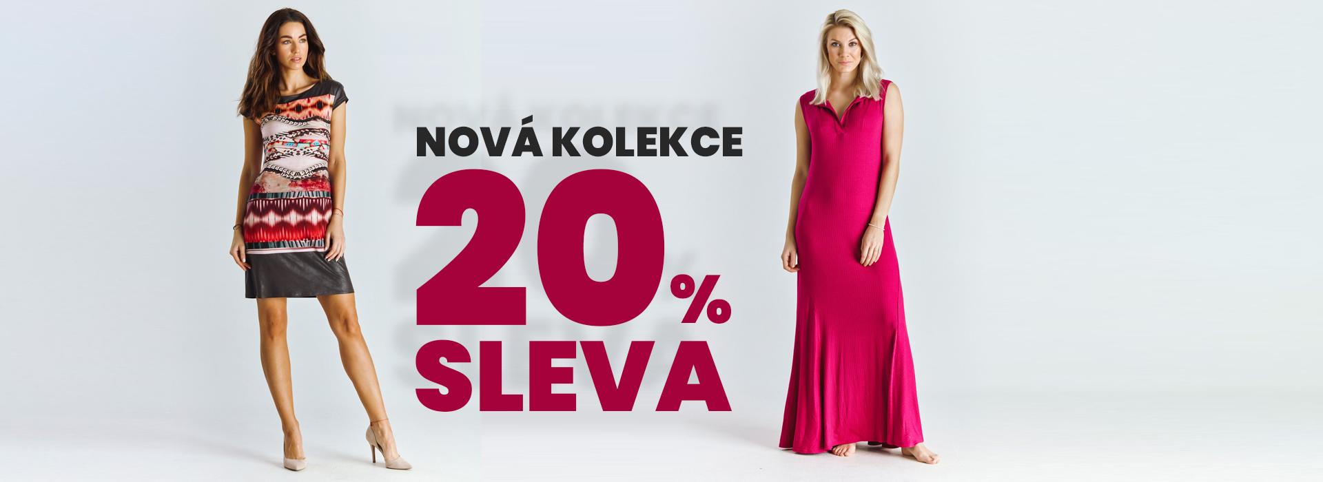 2021 sleva letní kolekce šaty