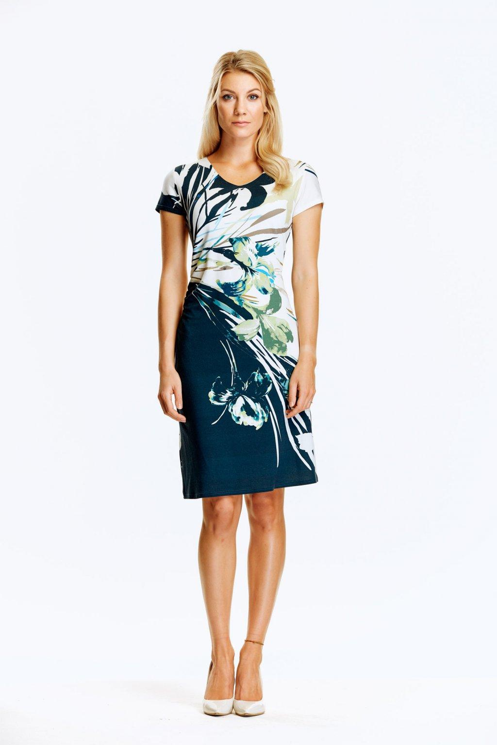 Dámské šaty s řasením