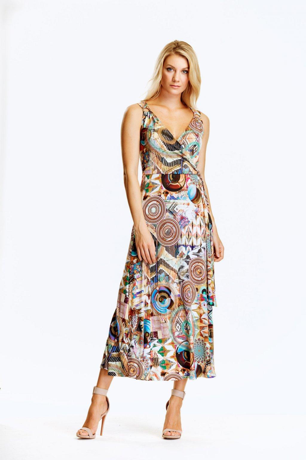 Dámské šaty s kroužky