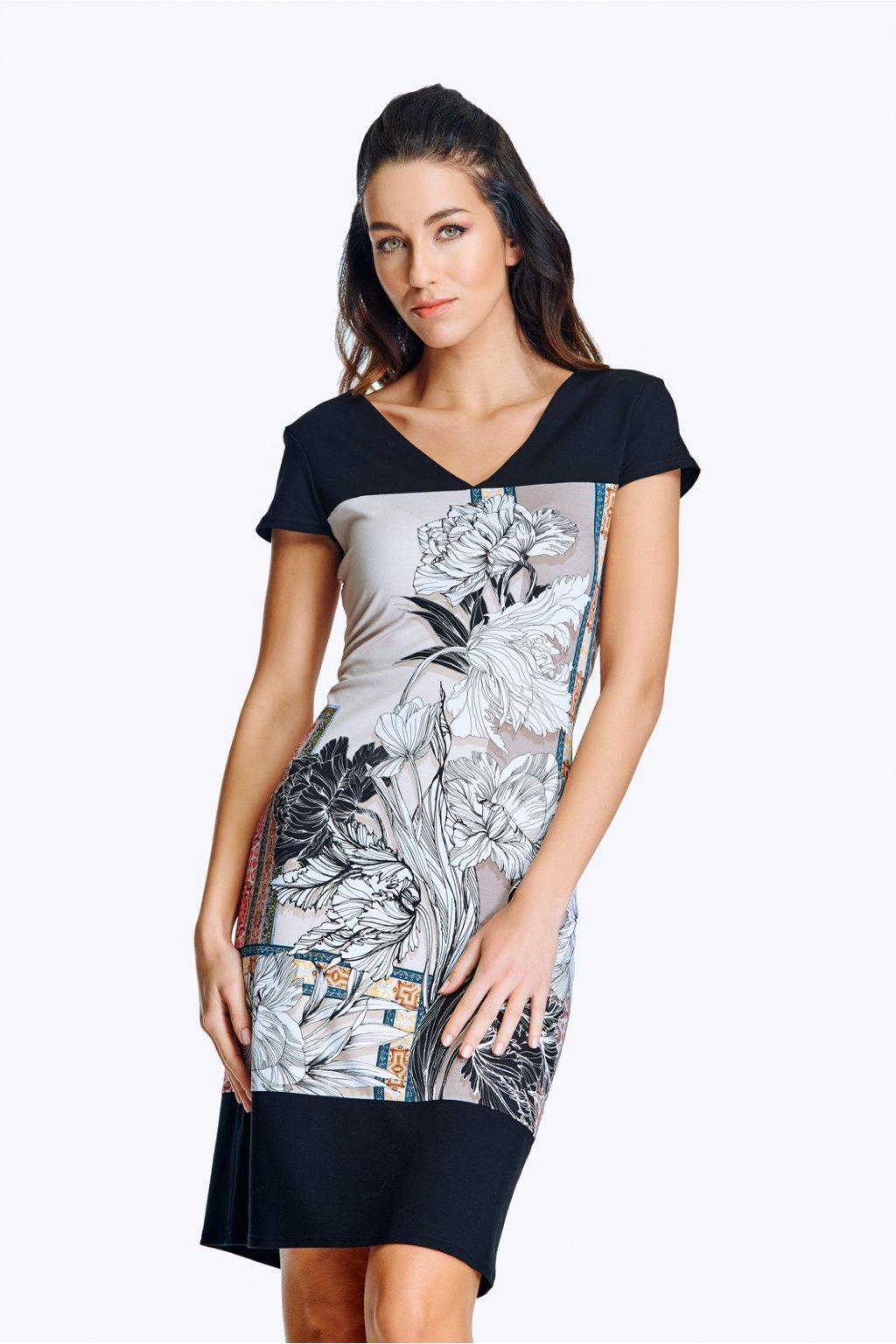 Dámské šaty se sedlem