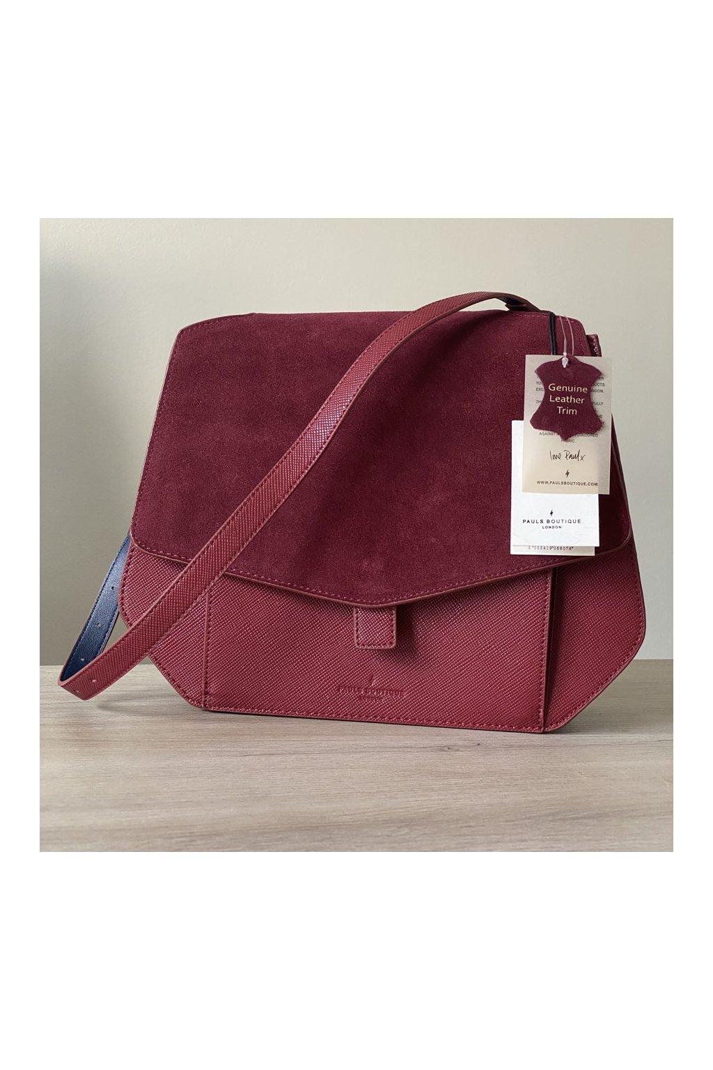 Dámská kabelka Grayson s ozdobou z pravé kůže