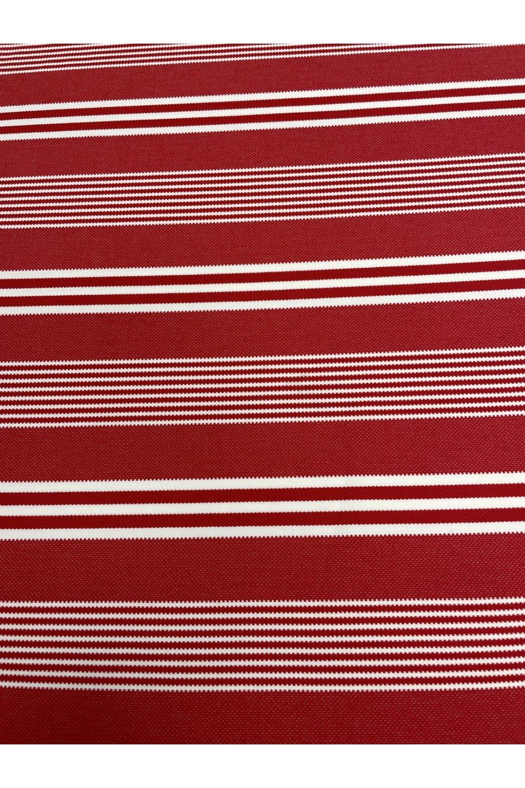 Úplet červeno-bílý pruh