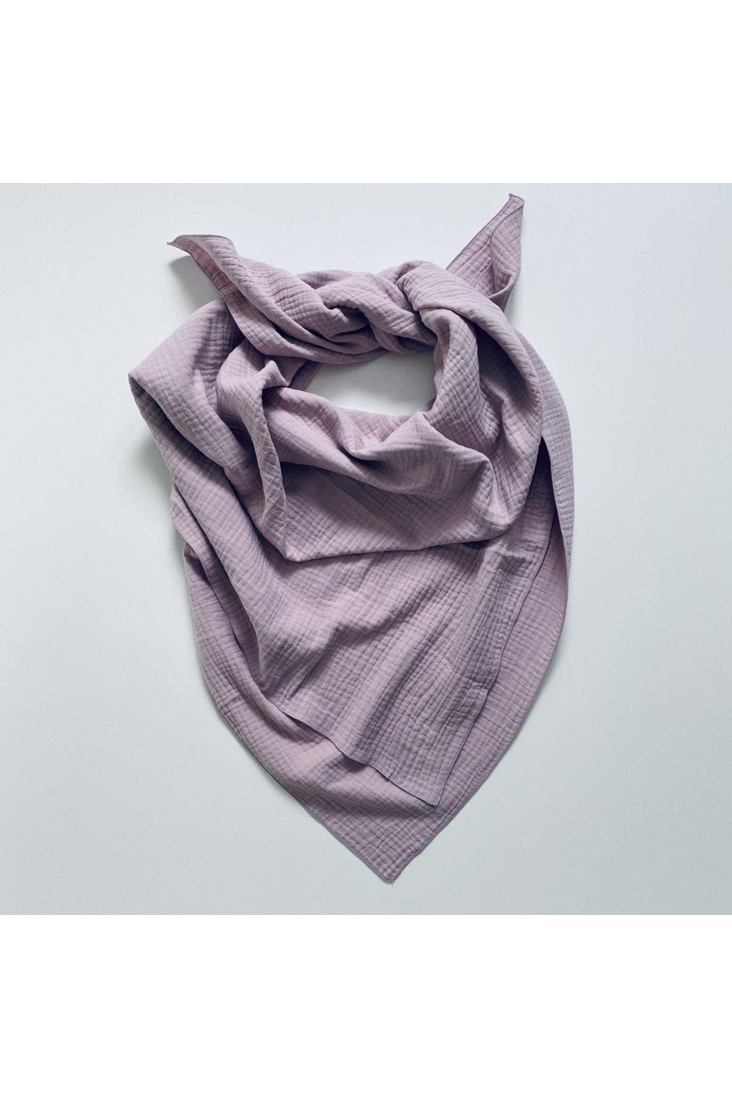 Dámská šála a taška 2v1 růžová
