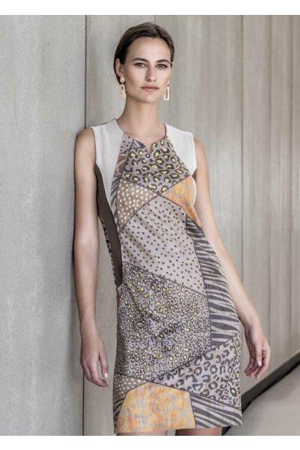 Dámské semišové šaty Kalisson