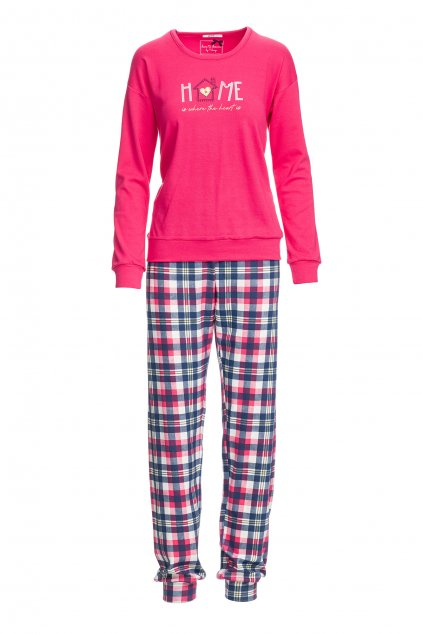 Dámské pyžamo Vamp s potiskem Home