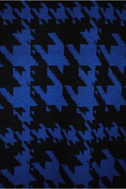 Úplet černo-modrý