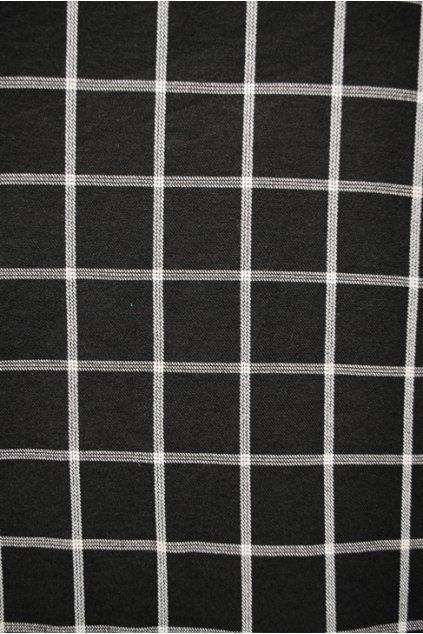 Kostýmovka černo-bílé káro