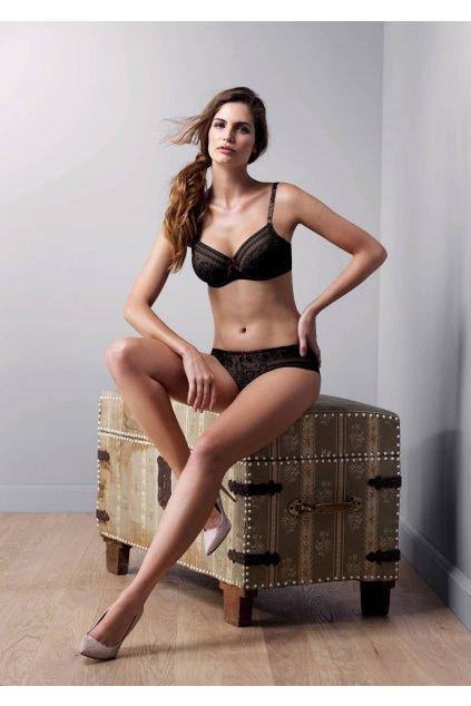 Podprsenka s kosticí Fleur černá - Anita