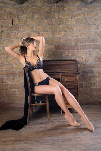 Kalhotky Elation Sassa - černá
