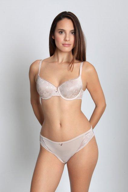 Kalhotky Allover Lace Sassa - tělová