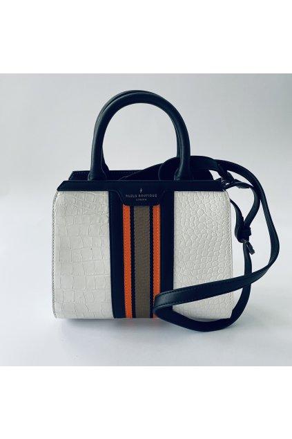 Dámská kabelka Paul's boutique bílá se zdobením