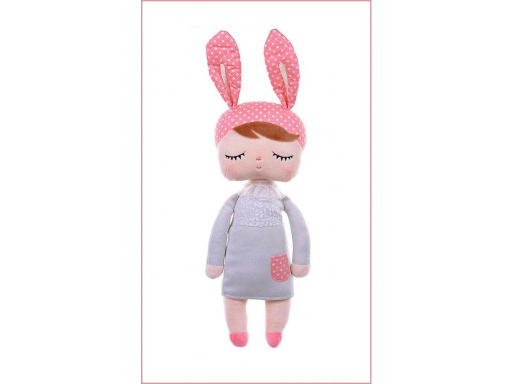 Plyšová panenka Angela,panenka kralicek.Hebká panenka