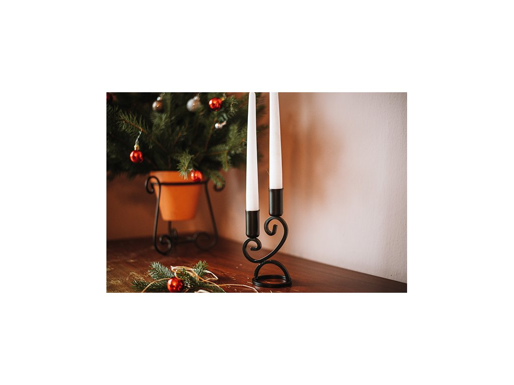 Svícen - 2 svíčky