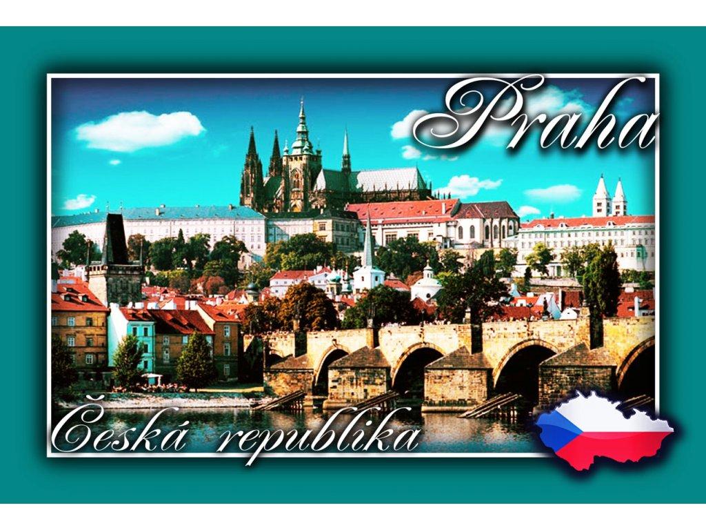 Fotomagnetky Praha s Mapou