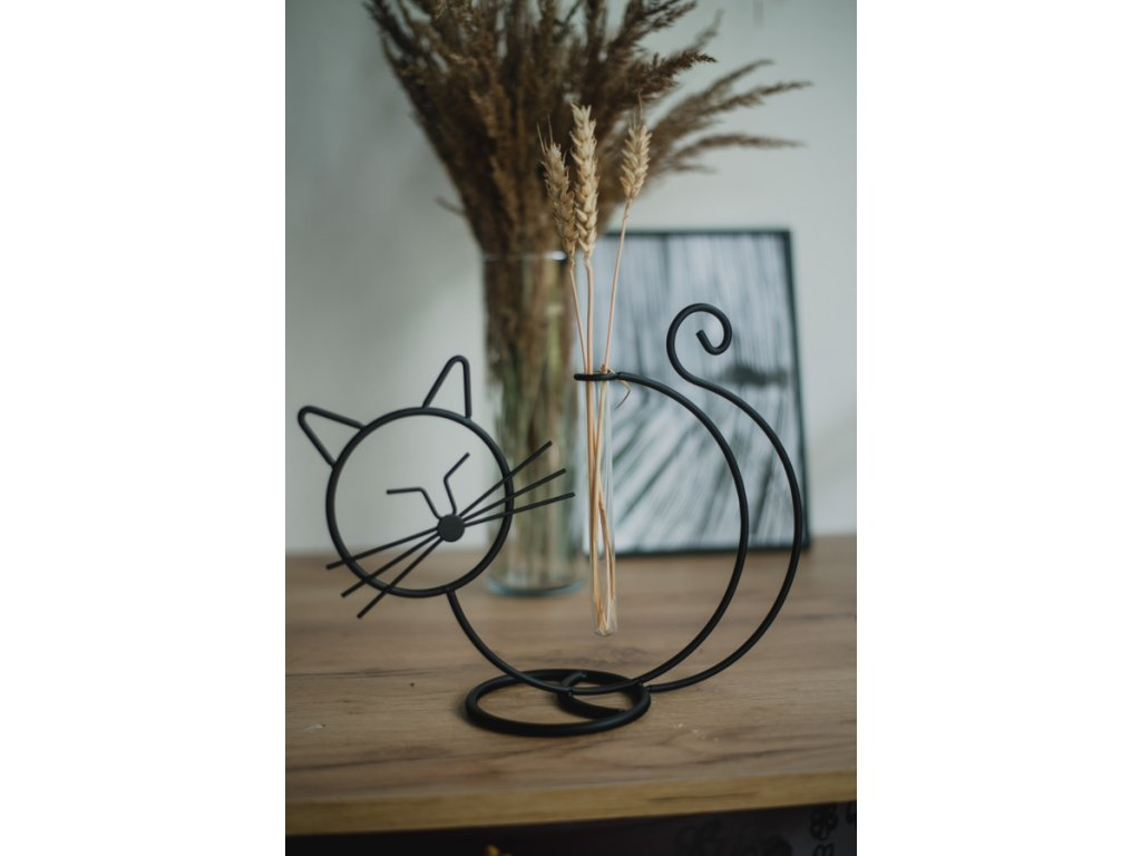 kočička váza