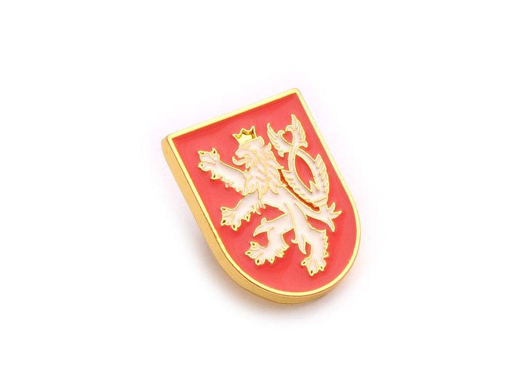 Odznak ČR – malý státní znak České republiky. Státní symbol ČR
