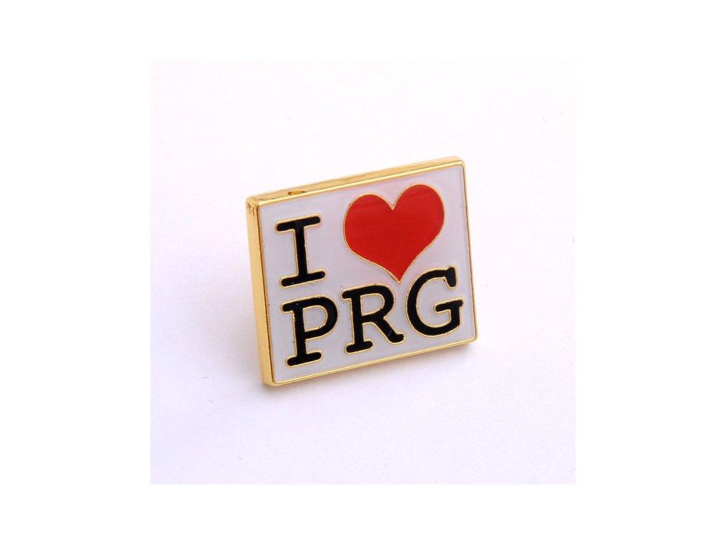 Odznak s Českou vlajkou-ČESKA REPUBLIKA-ČESKY ODZNAK-PINS CZECH REPUBLIC-Státní symbol ČR-I LOVE PRAGUE-I LOVE PRG