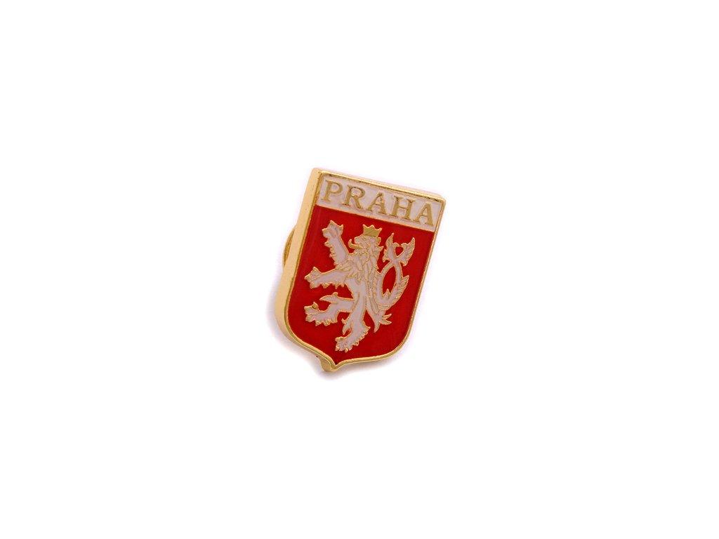 Odznak ČR – malý státní znak České republiky, český lev.ČESKA REPUBLIKA-ČESKY ODZNAK-PINS CZECH REPUBLIC-Státní symbol ČR