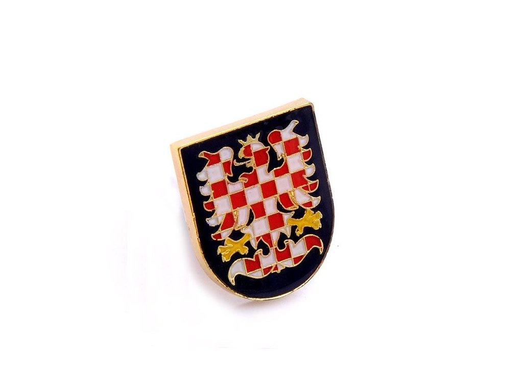 Odznak Morava – znak Moravy, moravská orlice.PINS CZECH REPUBLIC-Státní symbol ČR