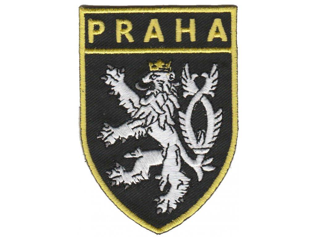 Nášivka PRAHA + lev