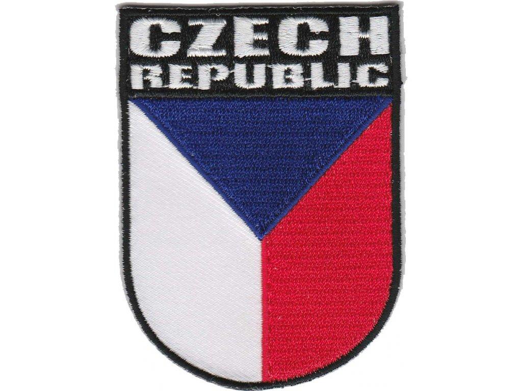 Nášivka - Státní vlajka České republiky