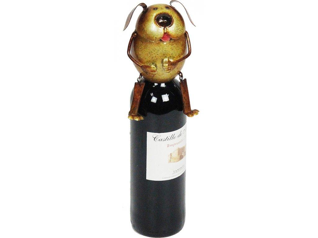 Kovový stojan na víno  - NA LÁHEV - na vino