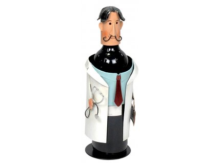 Kovoví stojan na víno - Doktor