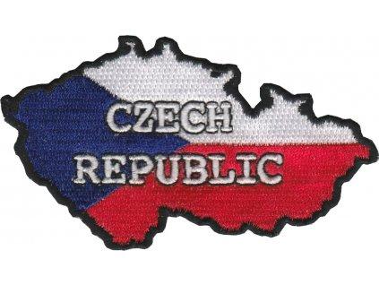 Nášivka - mapa CZECH REPUBLIC