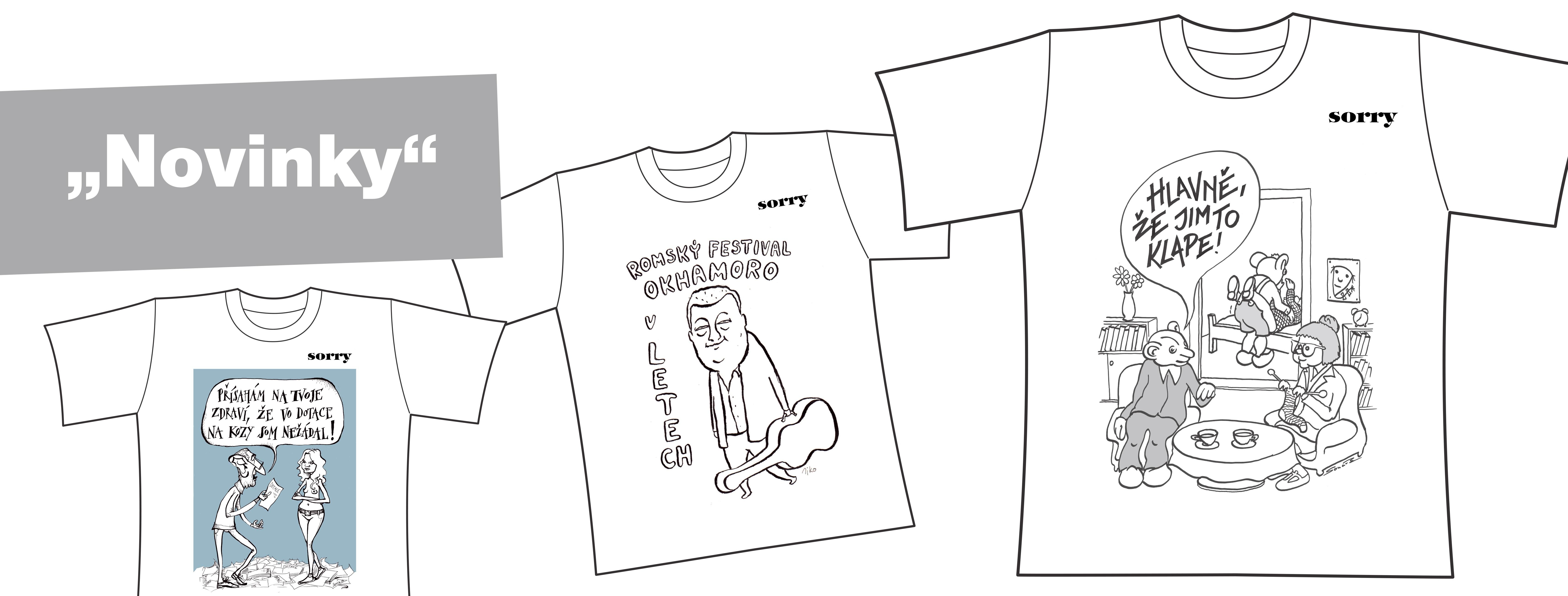 Máme nové trička