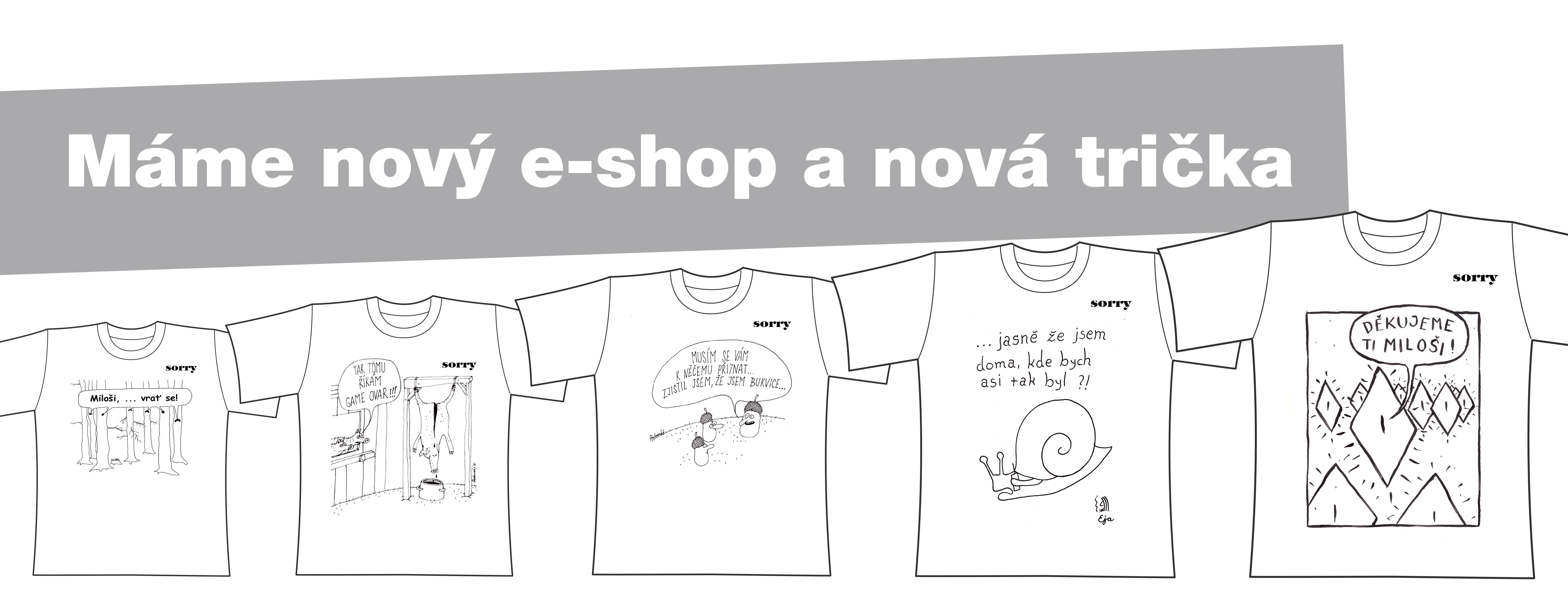 Série nových triček