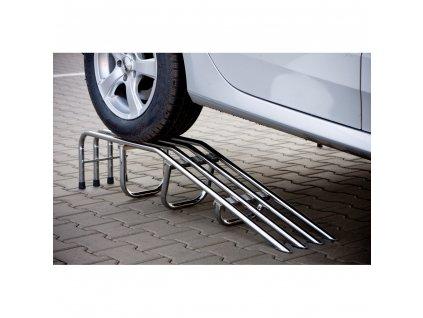 Nájezd pod auto pozink nebo lak