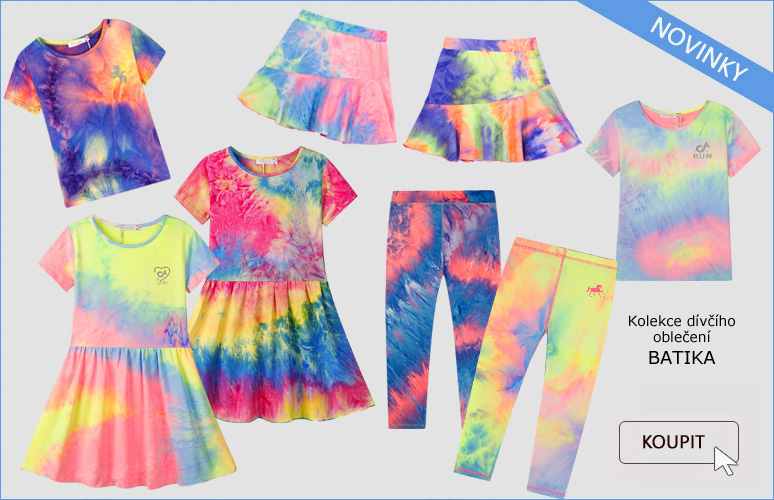 dívčí kolekce oblečení BATIKA, velmi příjemný lehký materiál