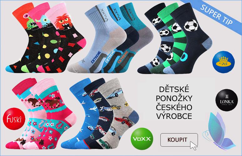 Rozšířili jsme sortiment o ponožky českého výrobce
