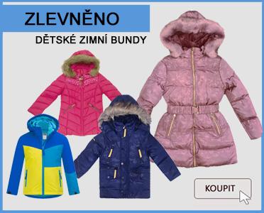 dětské zimní bundy SLEVA