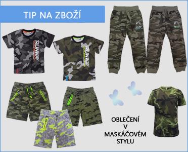 vyberte pro své děti oblečení na tábor nebo školu v přírodě