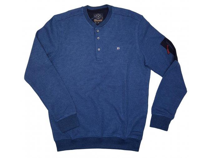 Pánská mikina 4331 modrá, N