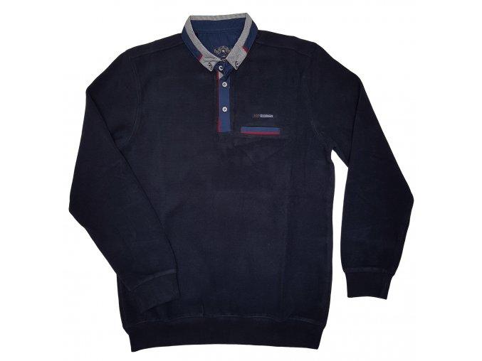 Pánská mikina 4342 temně modrá, N