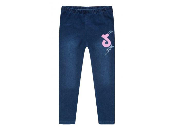 KUGO legíny dívčí KK9903 barva jeans, TIK TOK, N
