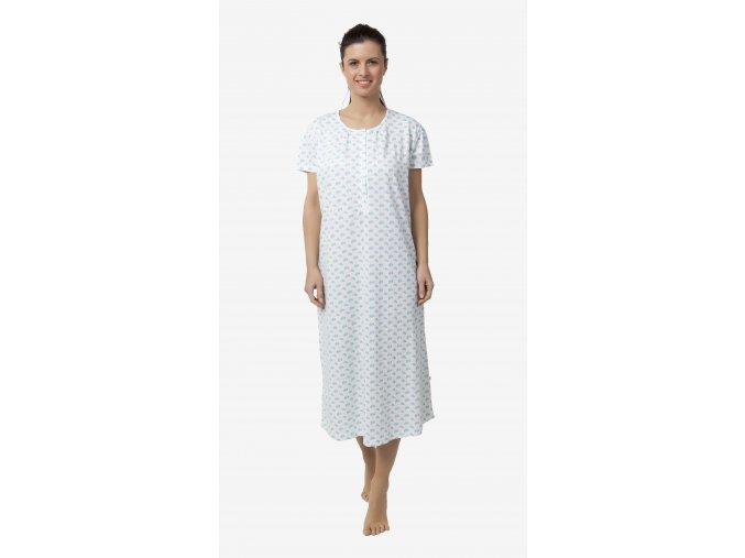 CALVI dámská noční košile 18-176 tyrkysová, N