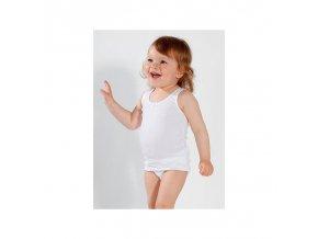 PLEAS dívčí košilka 081024 bílá
