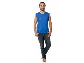 COONOOR triko bez rukávů 19-023 modrá
