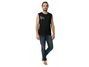 COONOOR triko bez rukávů 19-023 černá